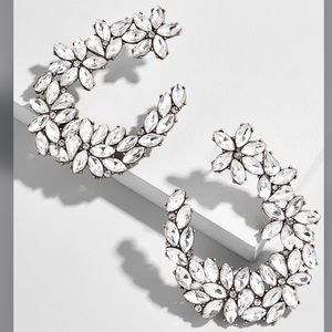 BRAND NEW!! BaubleBar Evolet Hoop Earrings